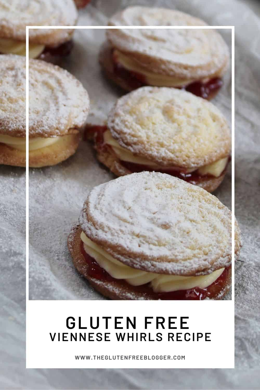 gluten free viennese whirls recipe biscuits cookies baking coeliac