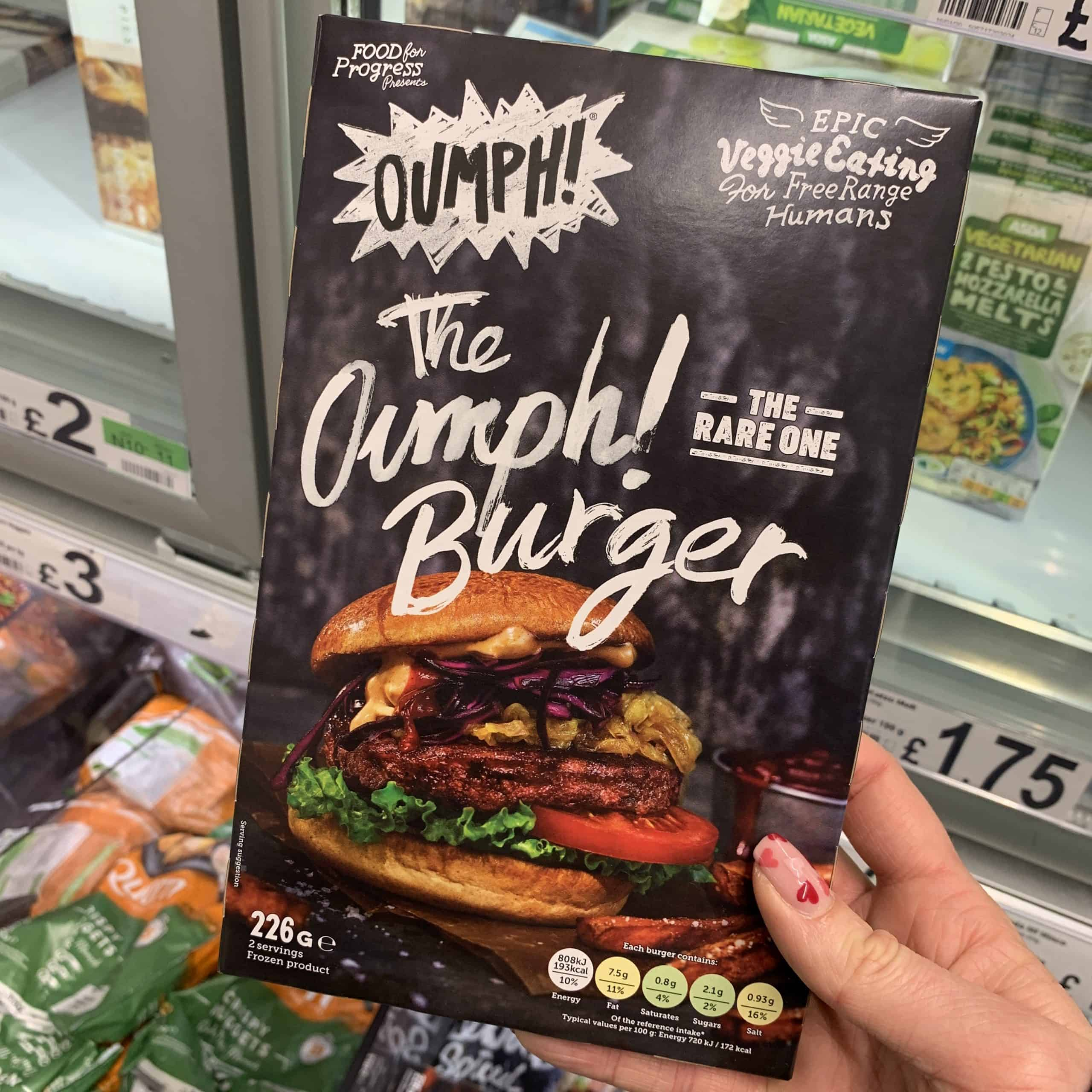 oumph burger gluten free uk