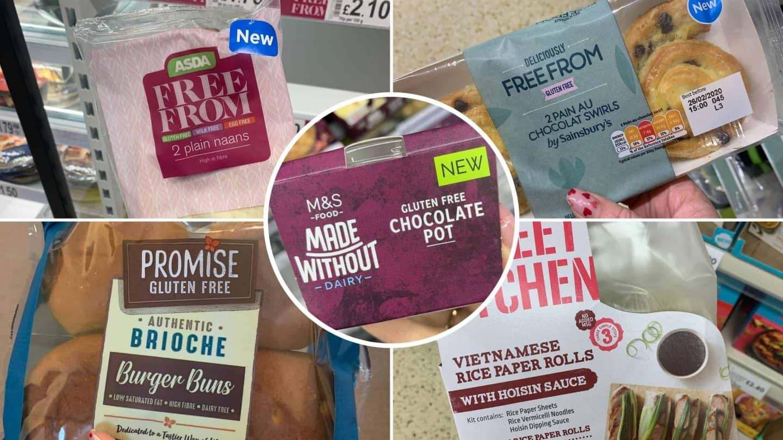 new gluten free products uk supermarkets feb 2020