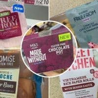 new gluten free products uk supermarkets feb 2020