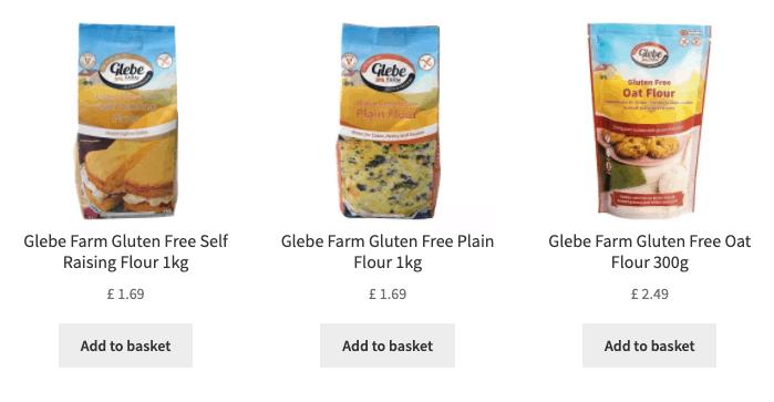 glebe farm gluten free flour