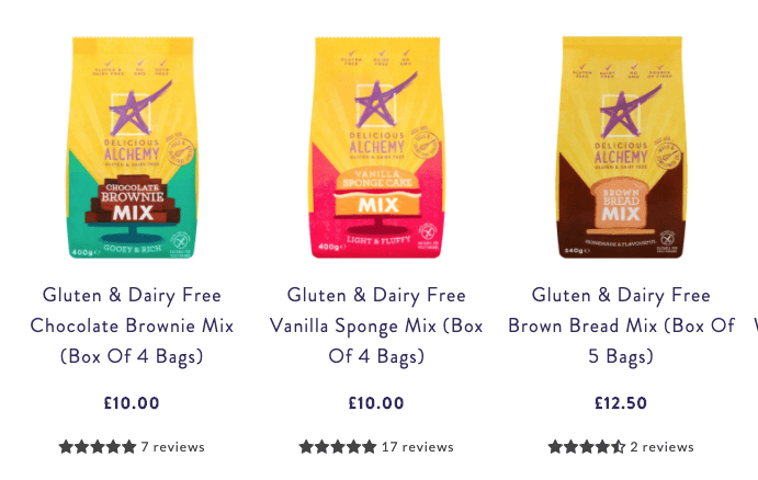 delicious alchemy gluten free baking kits