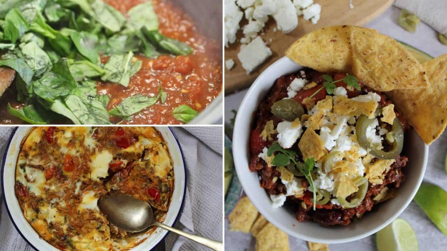 gluten free batch cooking recipes meal ideas