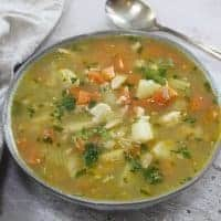 gluten free roast chicken soup recipe from roast chicken leftovers 31