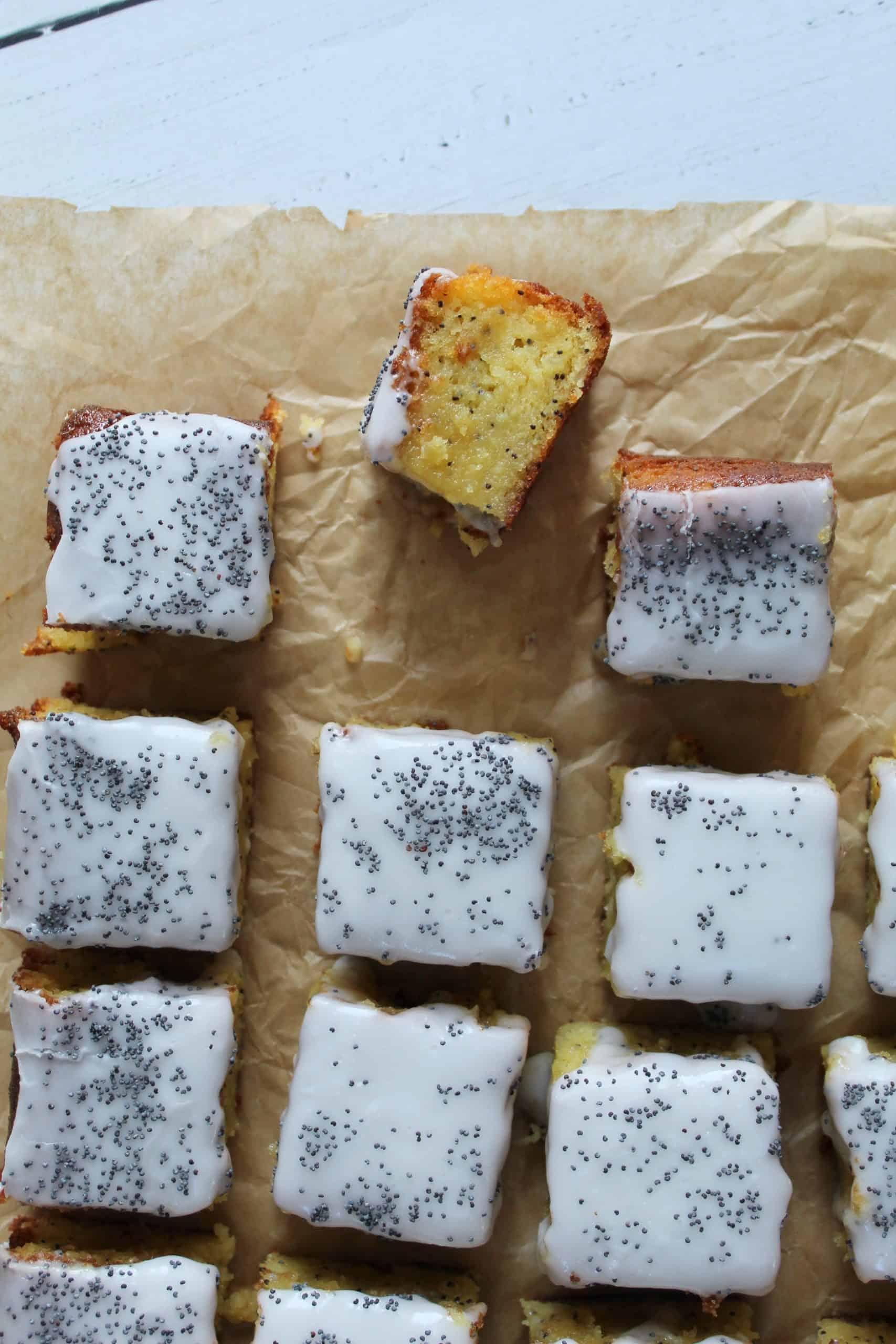 gluten free dairy free lemon poppyseed cake 36