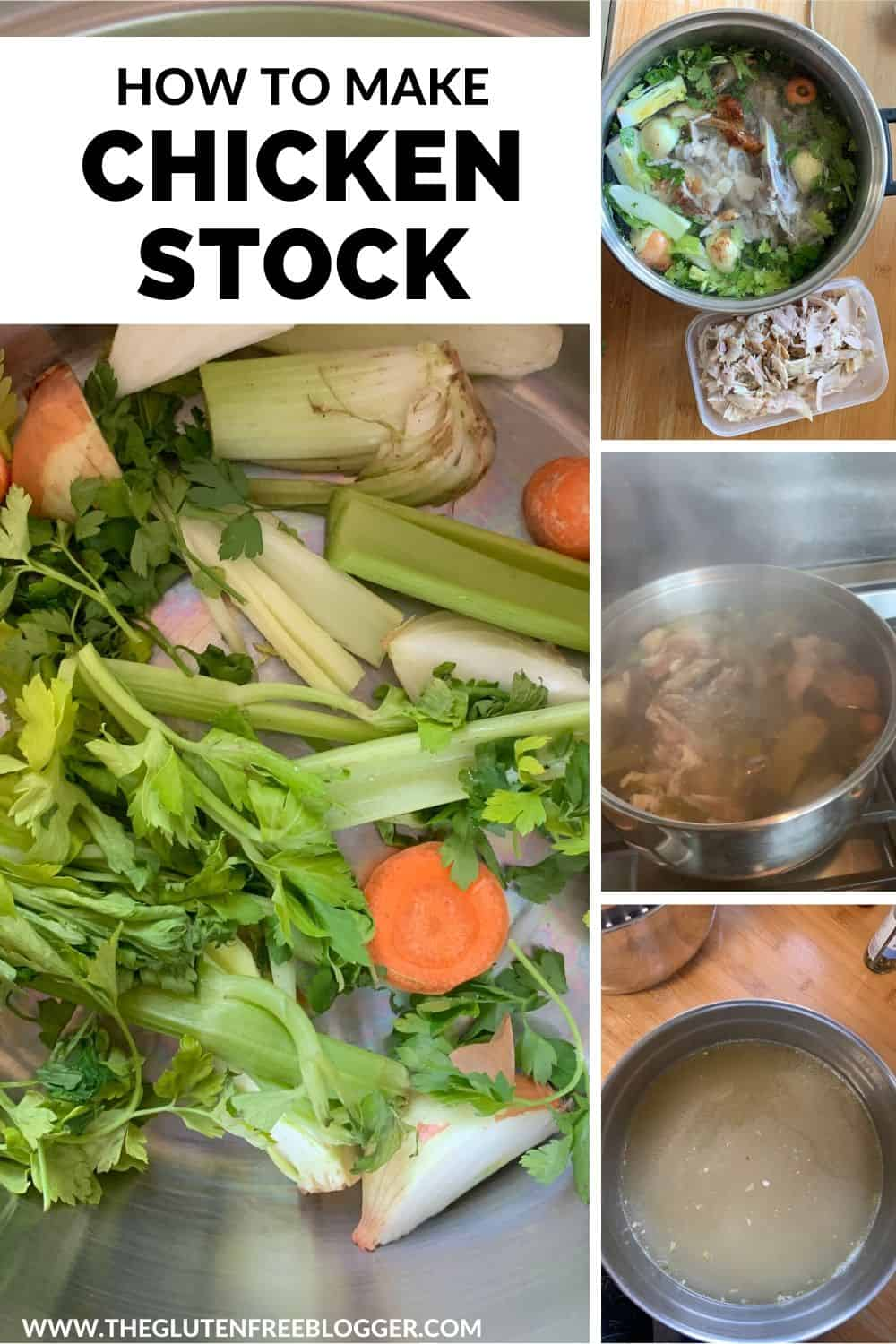 how to make gluten free chicken stock recipe from roast chicken carcass