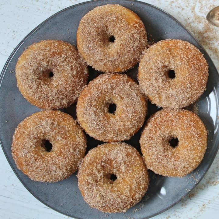 GLUTEN FREE BAKED DOUGHNUTS RECIPE EASY BAKED DONUTS CINNAMON SUGAR