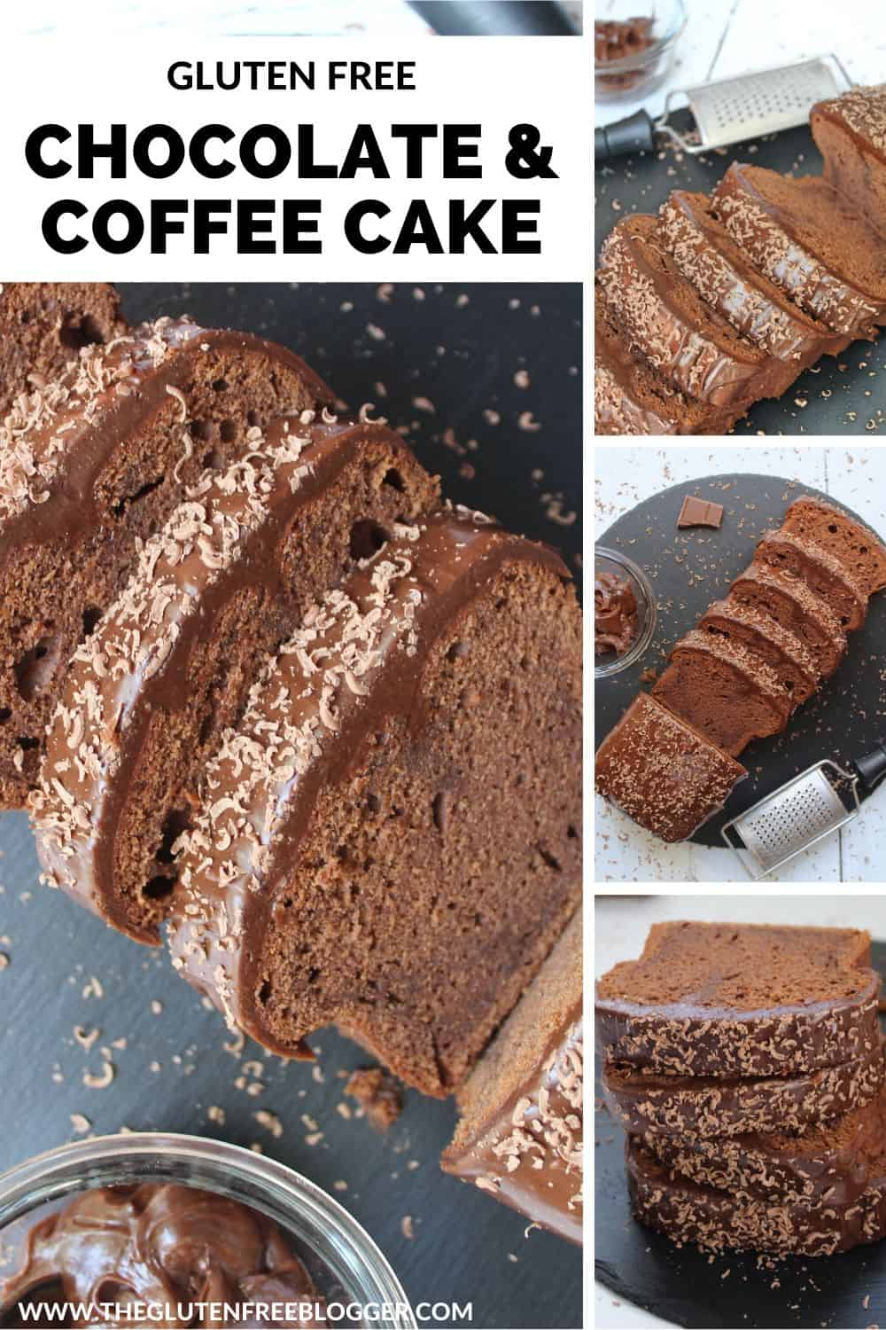 GLUTEN FREE CHOCOLATE AND COFFEE CAKE LOAF CAKE MOCHA CHOCACHINO RECIPE (1)
