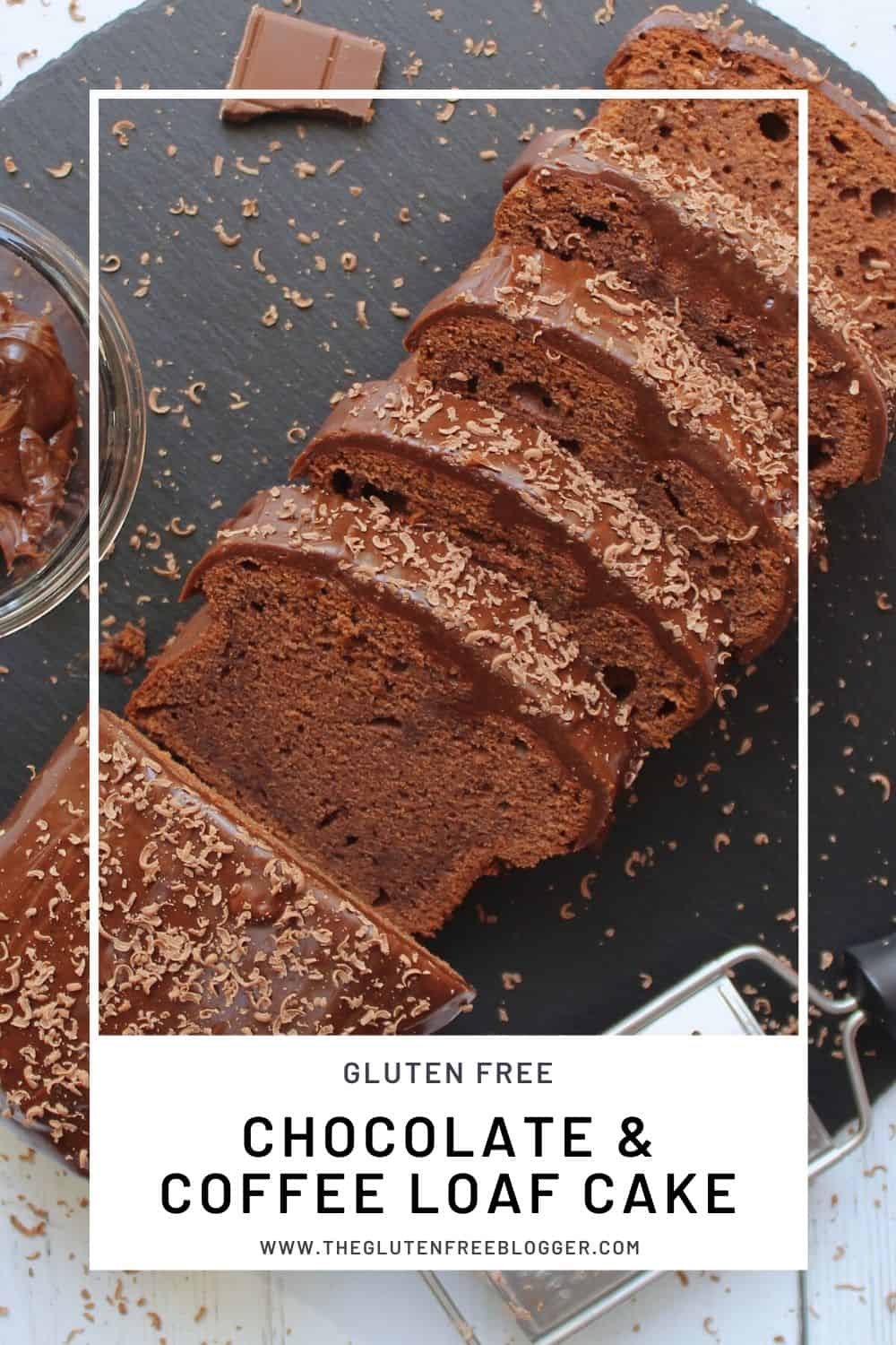 GLUTEN FREE CHOCOLATE AND COFFEE CAKE LOAF CAKE MOCHA CHOCACHINO RECIPE (2)