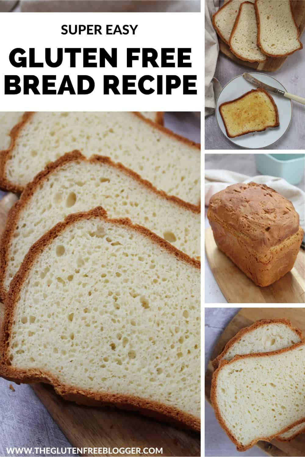 easy gluten free bread recipe basic baking at home dairy free