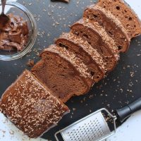 gluten free chocolate coffee cake mocha loaf cake recipe 126