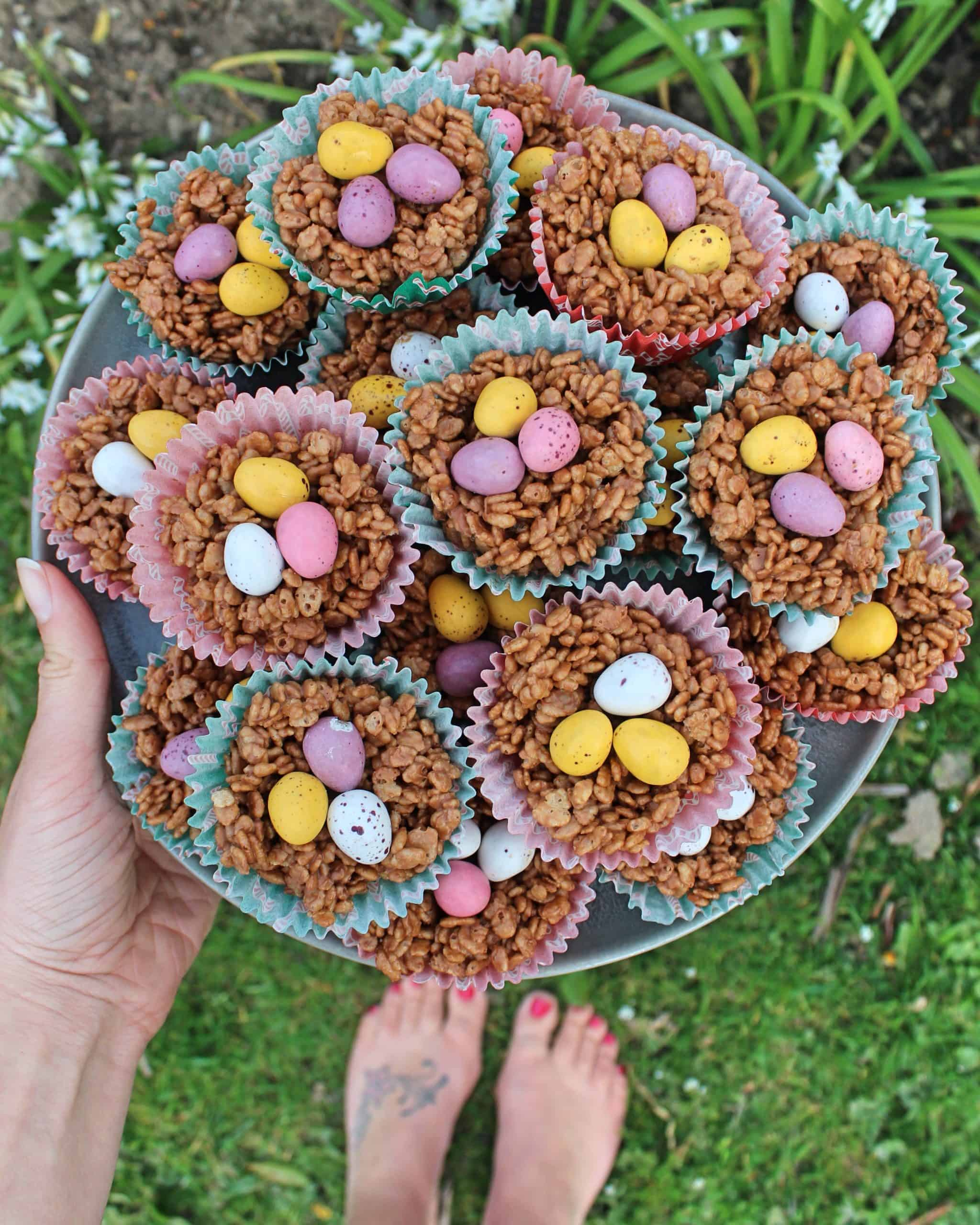gluten free easter nests recipe 2