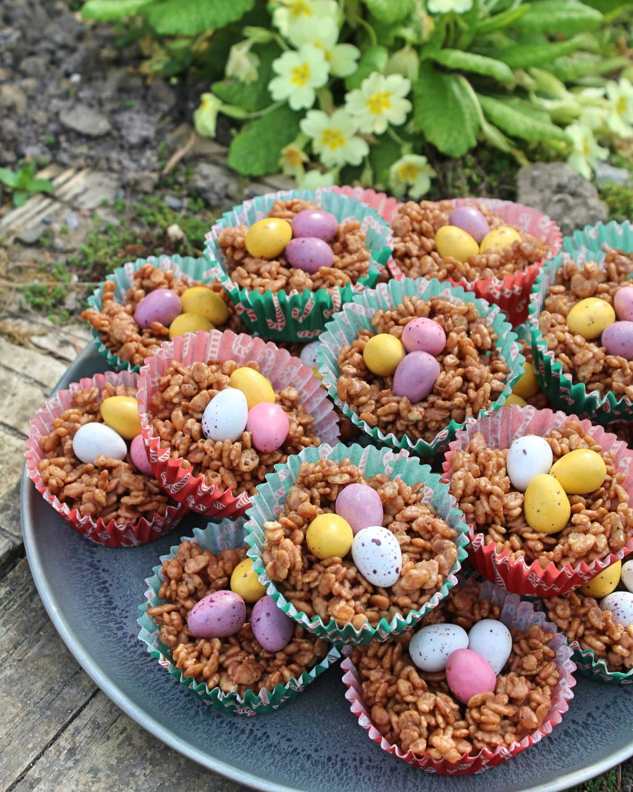 gluten free easter nests recipe 3