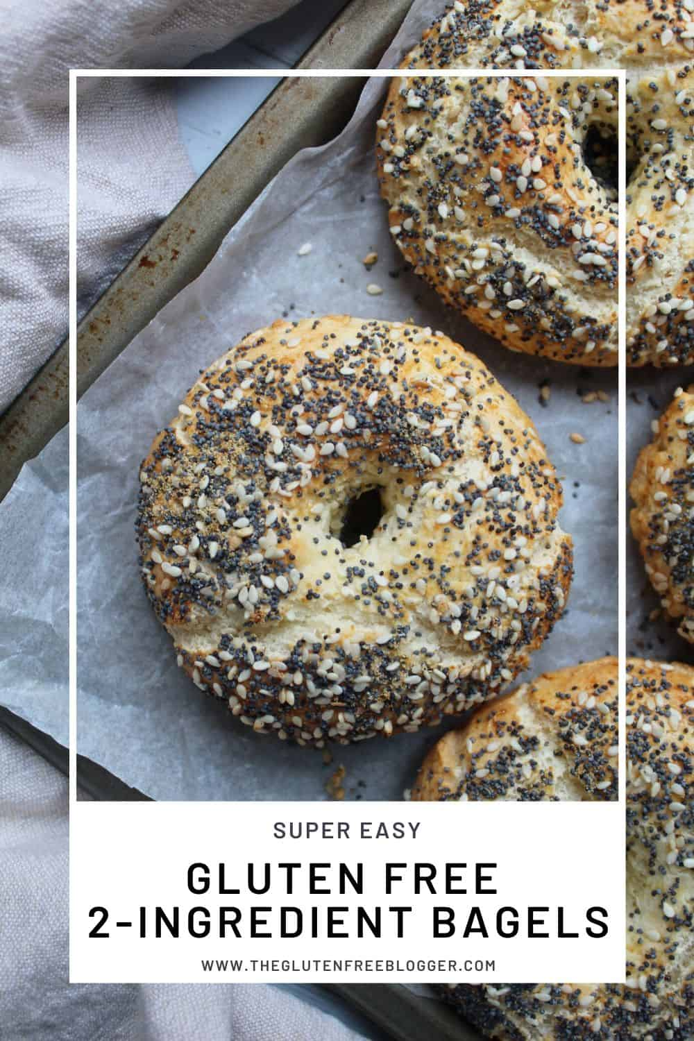 GLUTEN FREE BAGELS EASY 2-INGREDIENT GLUTEN FREE BAGEL RECIPE