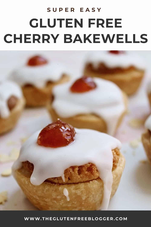GLUTEN FREE BAKEWELL TARTS CHERRY BAKEWELLS RECIPE