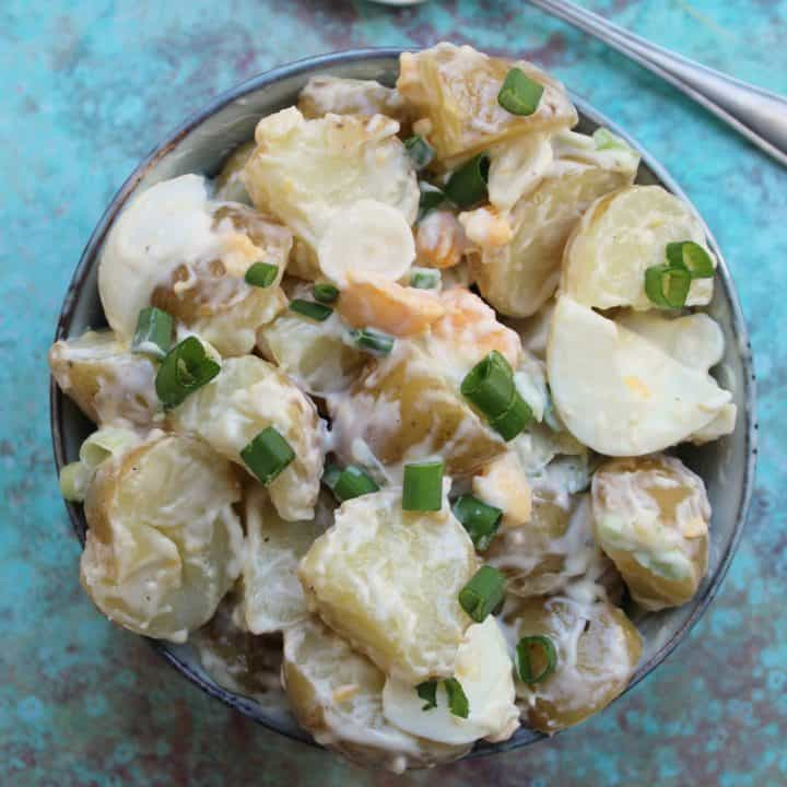 The ULTIMATE potato salad recipe