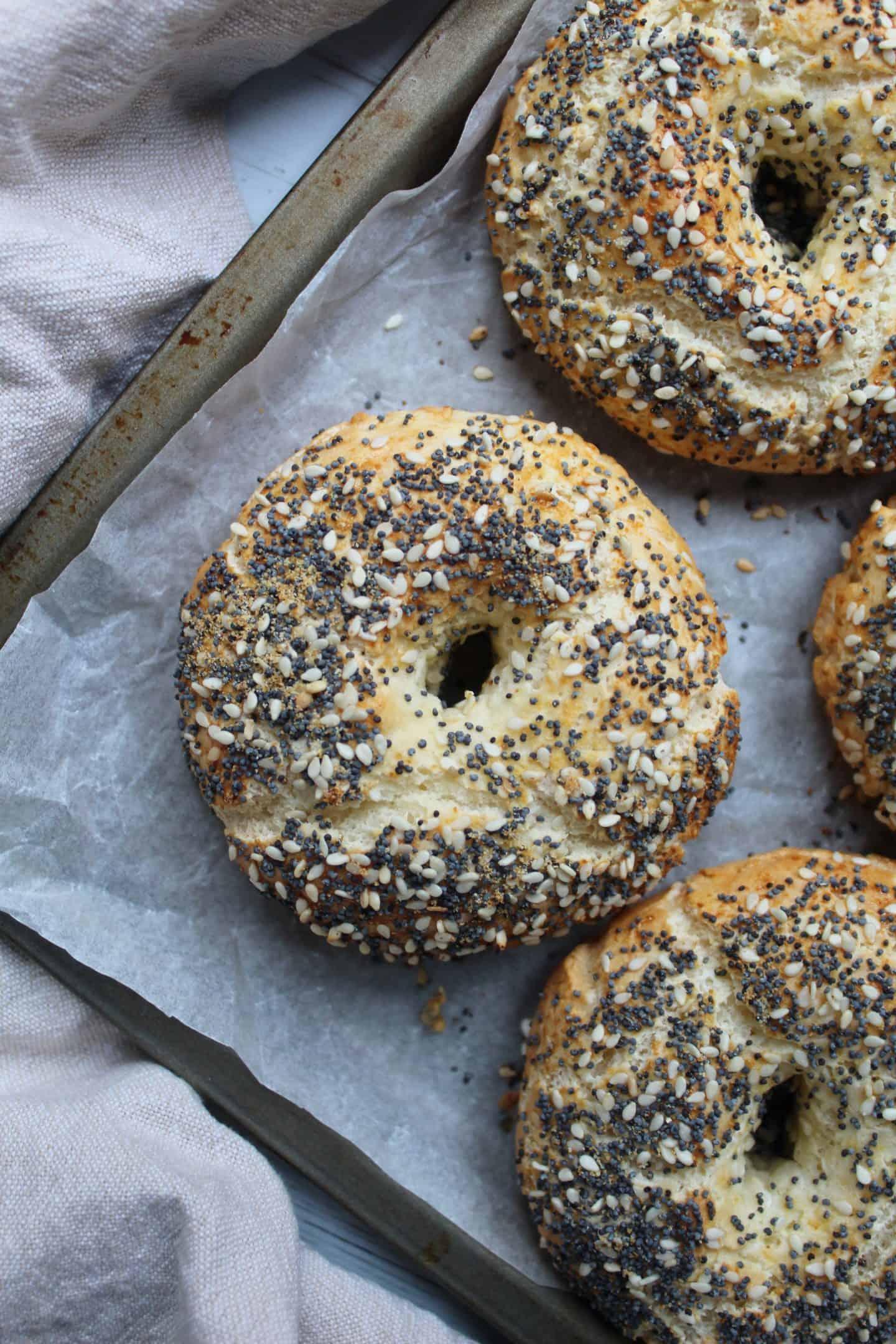 easy gluten free bagel recipe hack