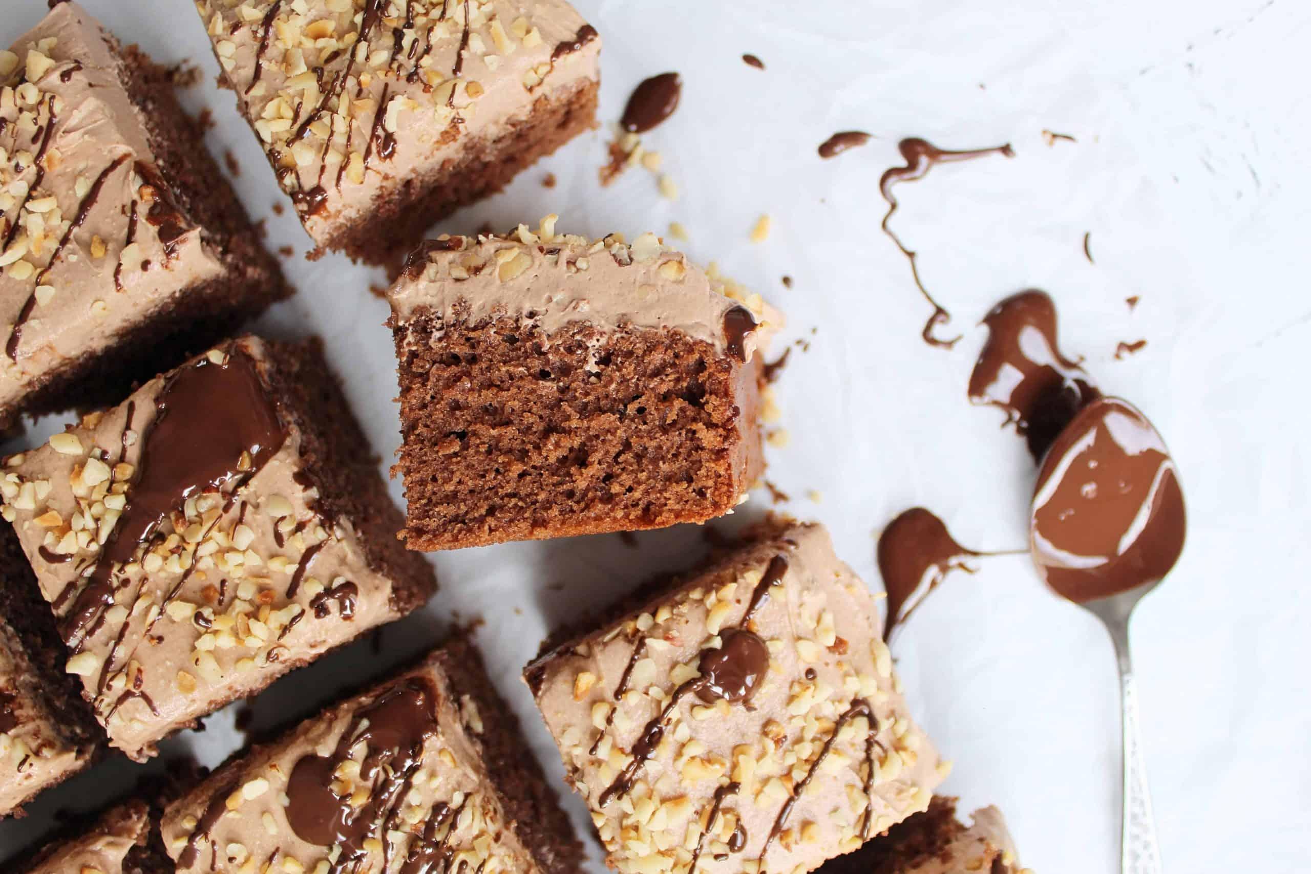 GLUTEN FREE NUTELLA CAKE 122