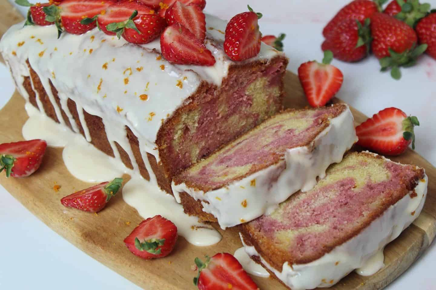 GLUTEN FREE STRAWBERRY AND ORANGE MABLE CAKE RECIPE 104