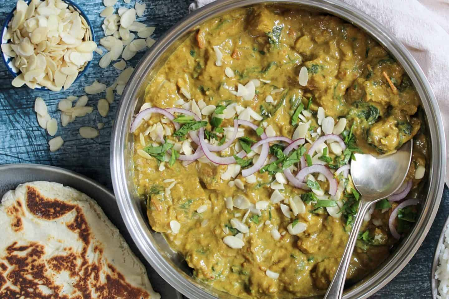 easy gluten free chicken curry recipe with coconut