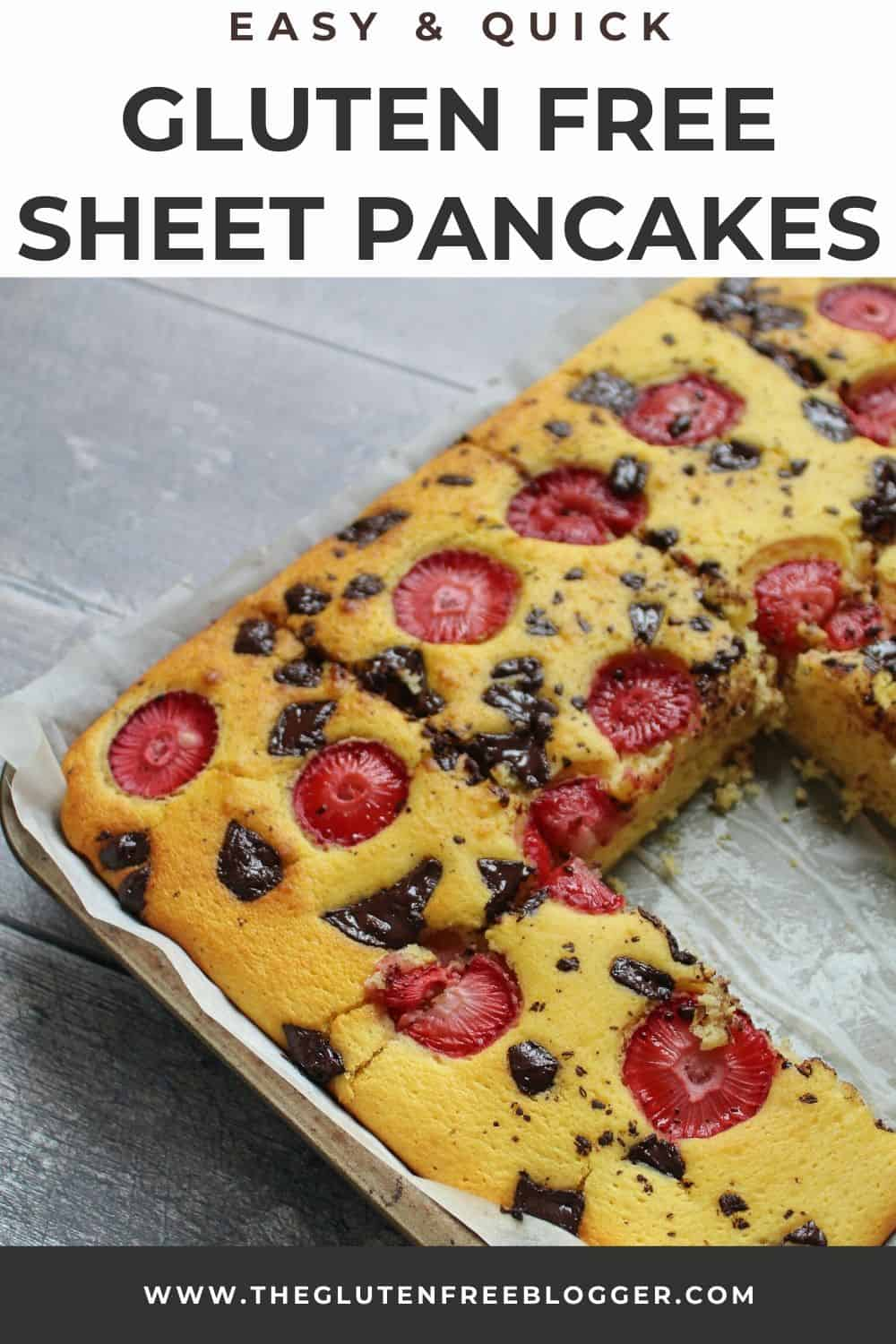 gluten free sheet pancake recipe