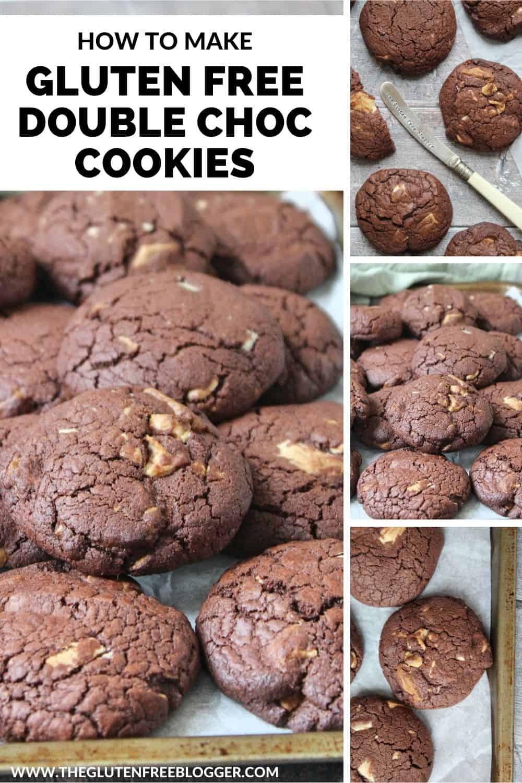 gluten free white choc chunk cookies recipe