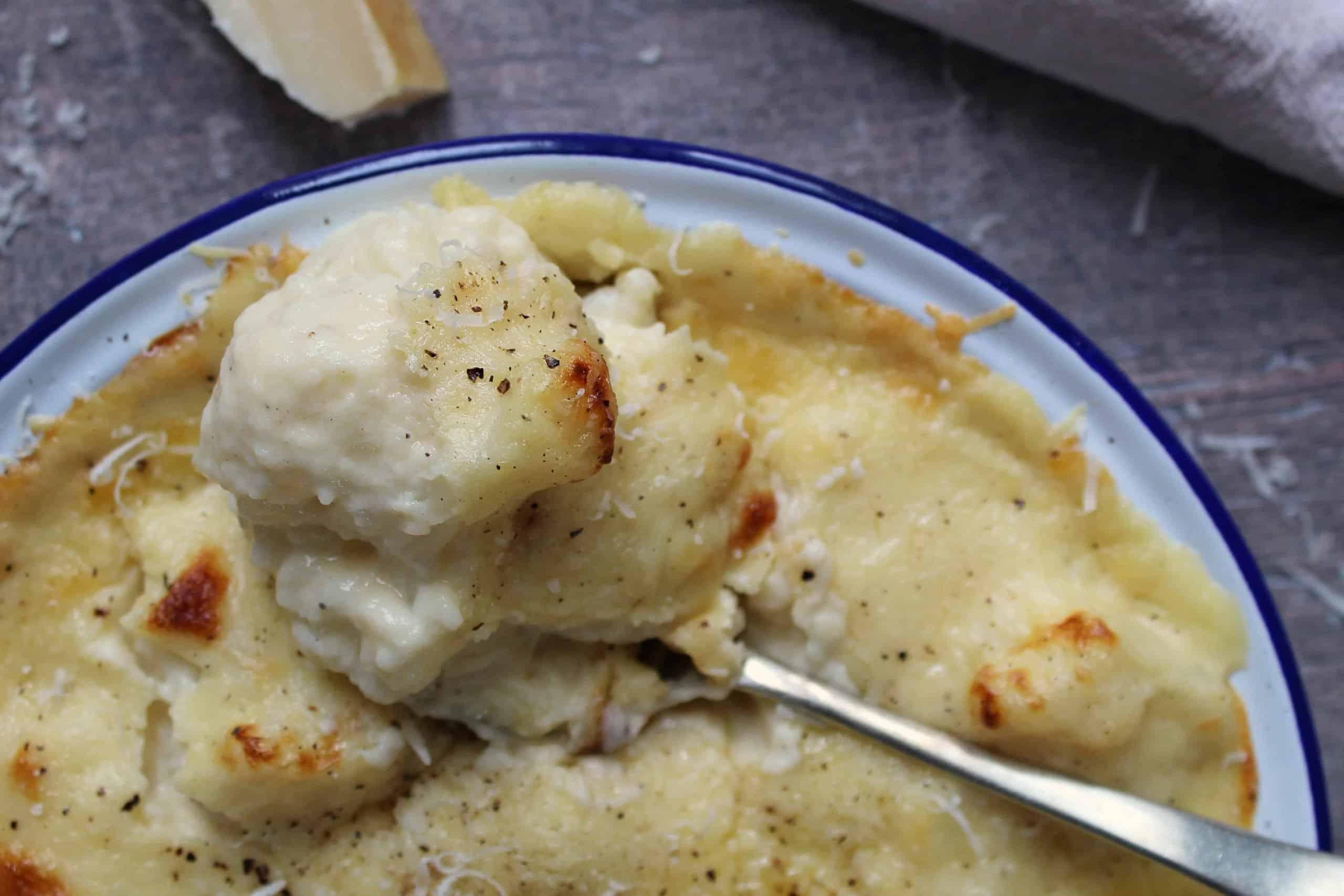 Gluten Free Cauliflower Cheese Recipe