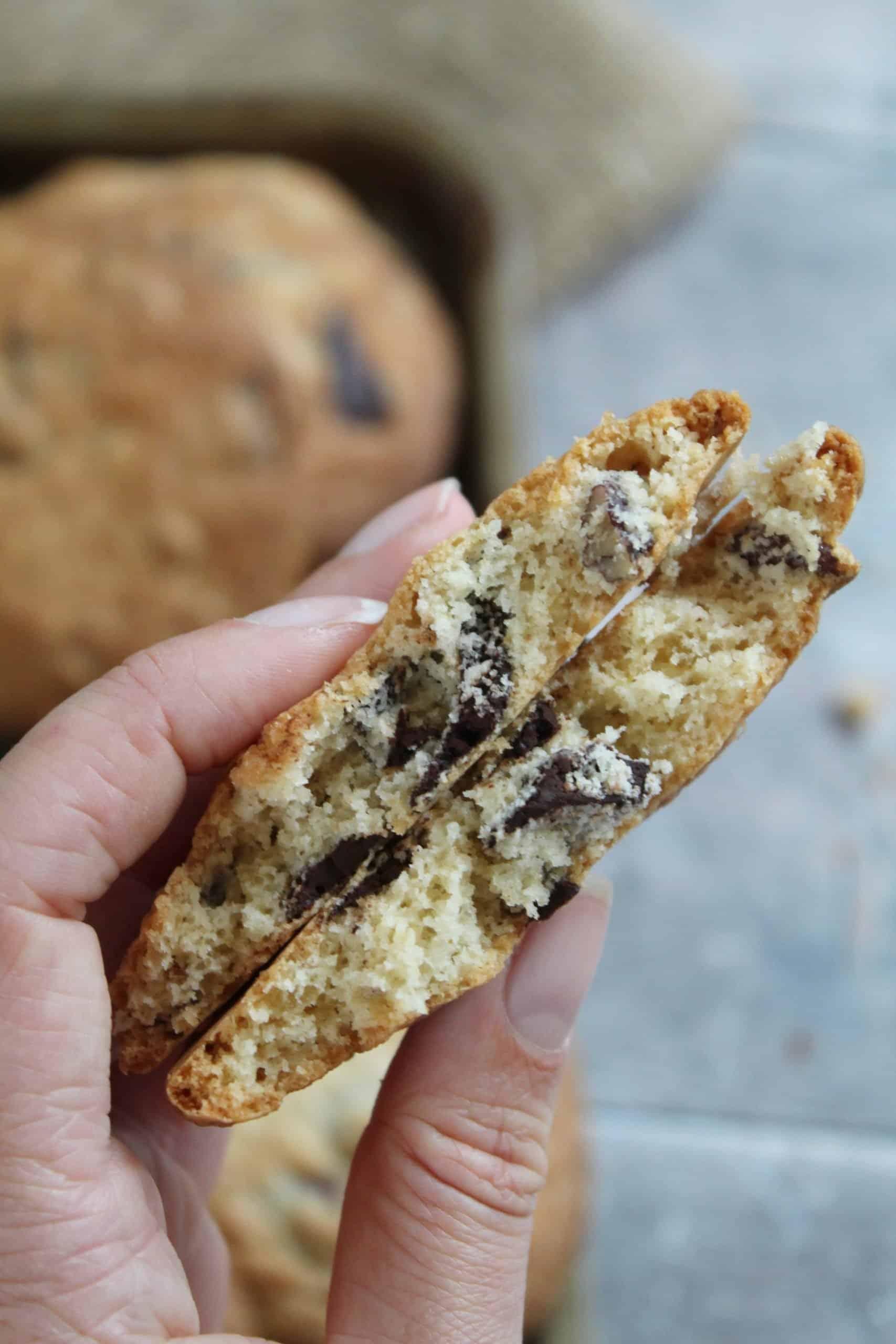 gluten free cookies - dark chocolate, ginger and pecan cookies recipe