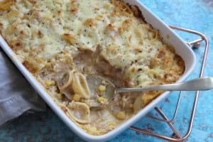 gluten free tuna pasta bake cheap & easy
