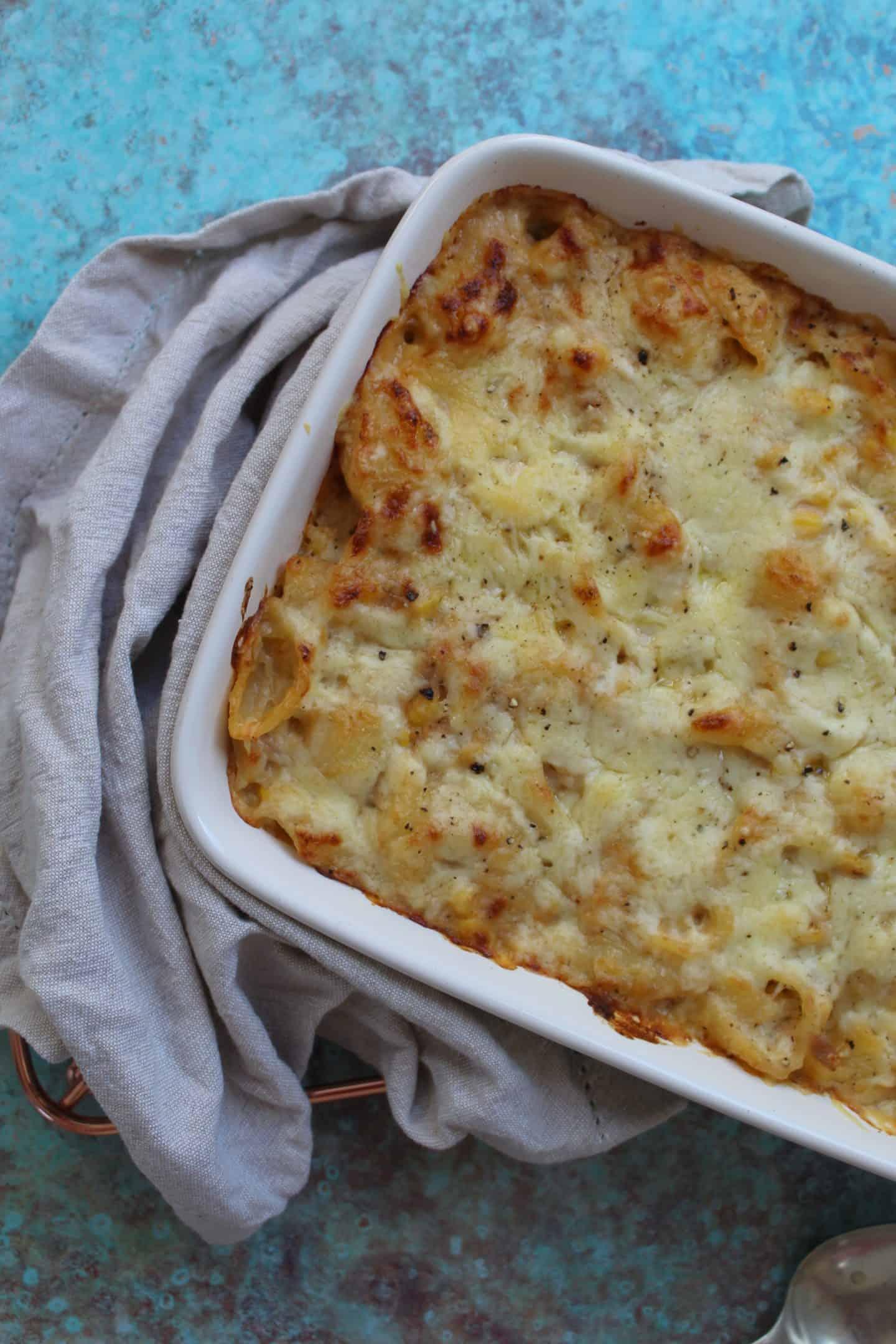 gluten free tuna pasta bake cheap & easy 5