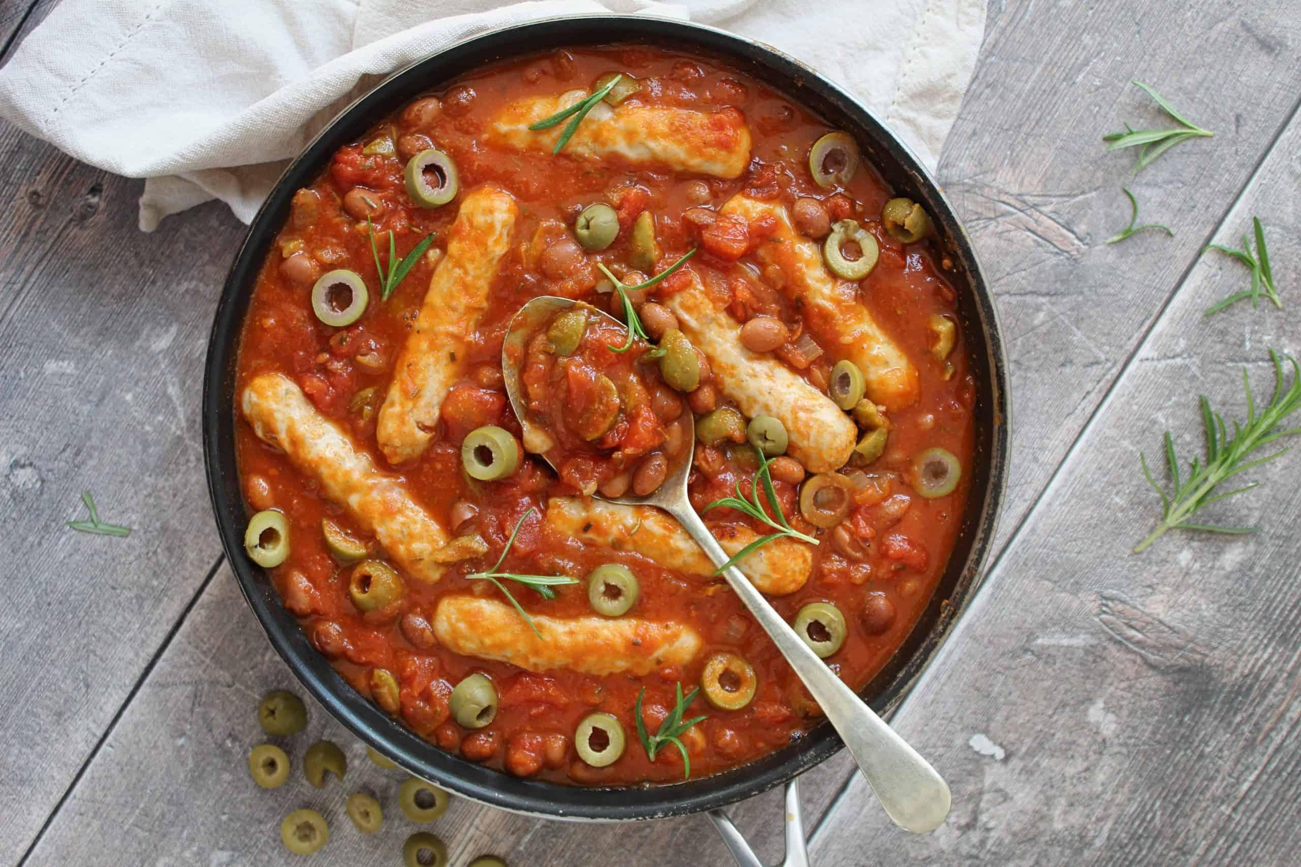 gluten free chicken sausage casserole