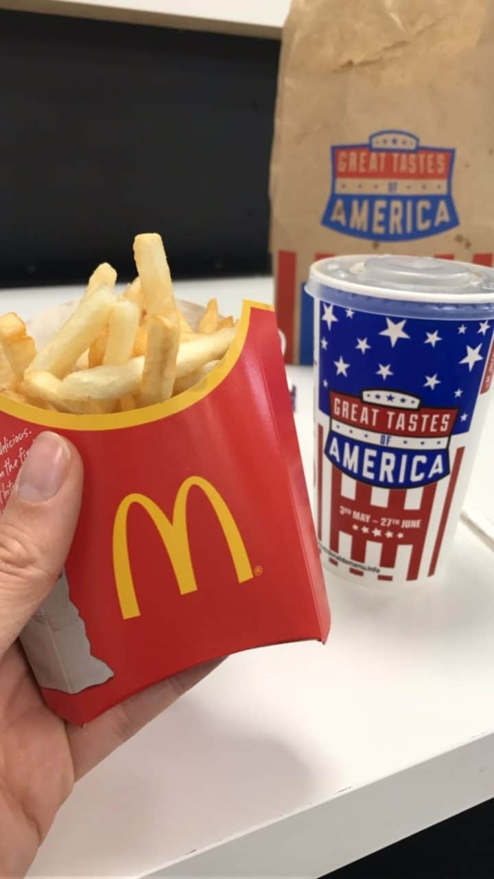 mcdonald's fries gluten free