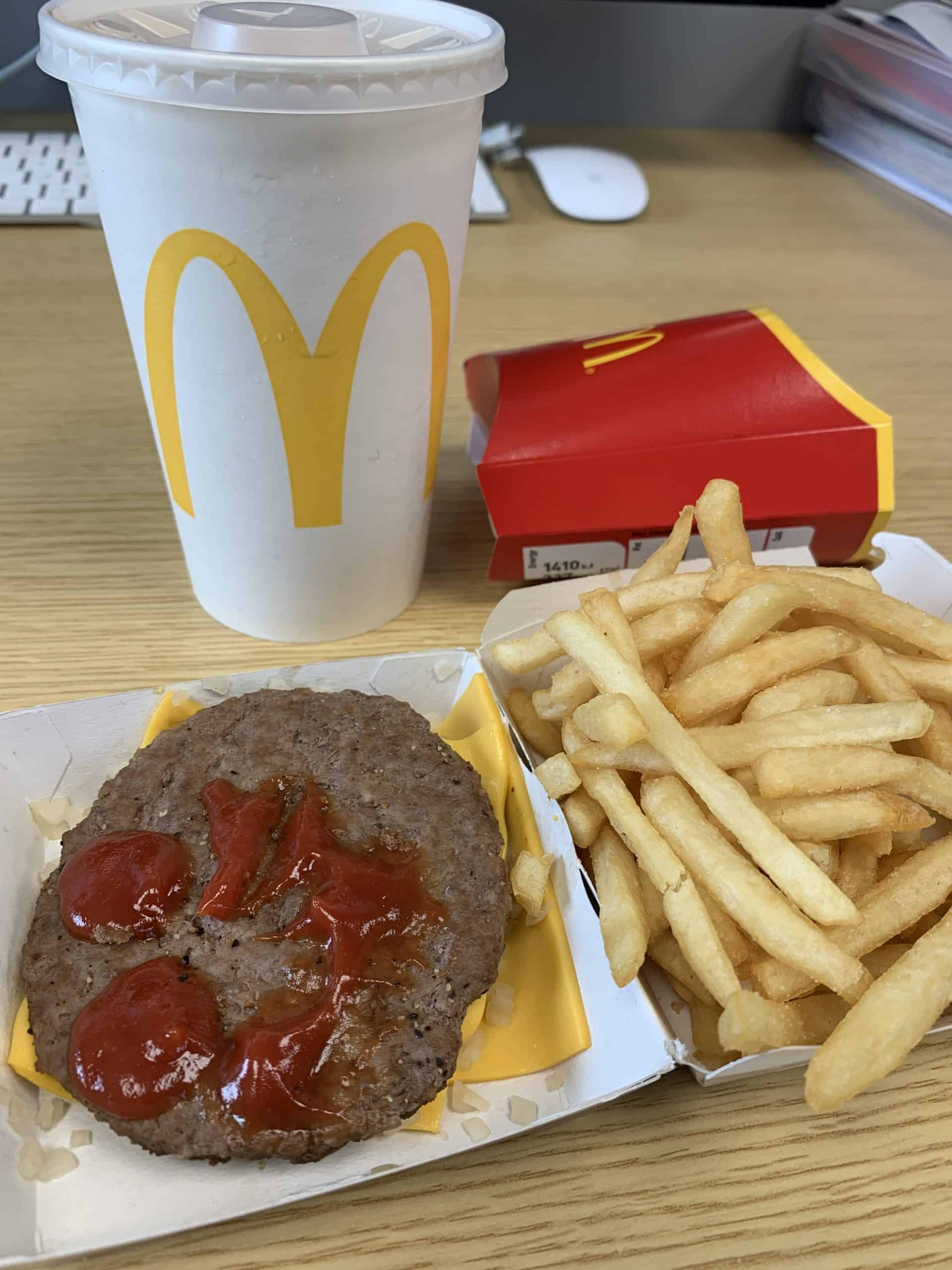 mcdonald's gluten free in the uk