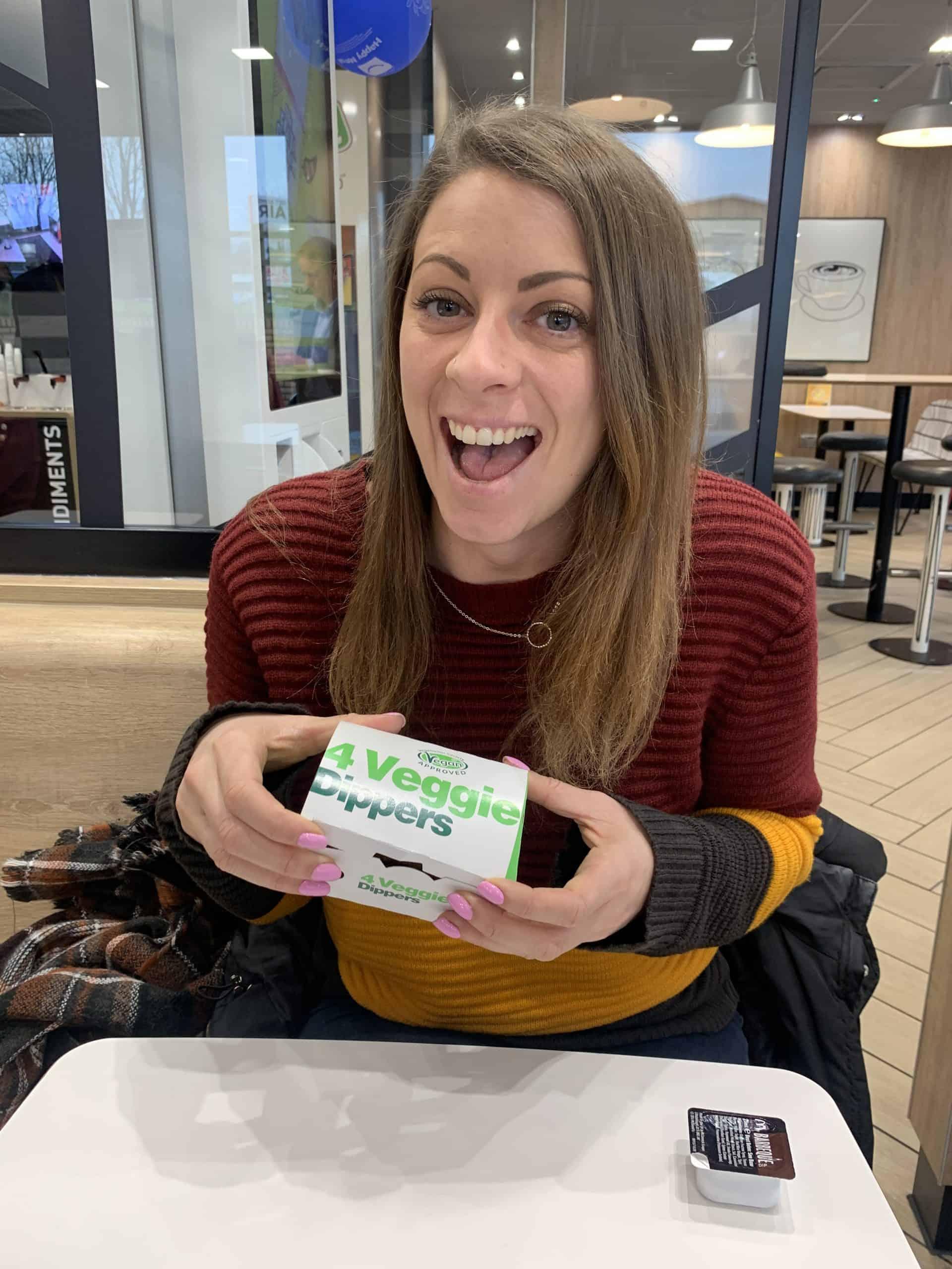 mcdonalds gluten free veggie dippers