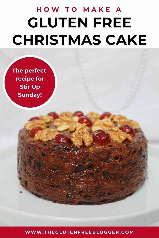 Gluten Free Christmas Cake Recipe