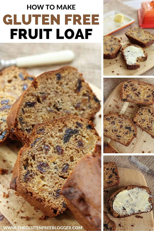 Gluten Free Tea Loaf (Fruit Cake)