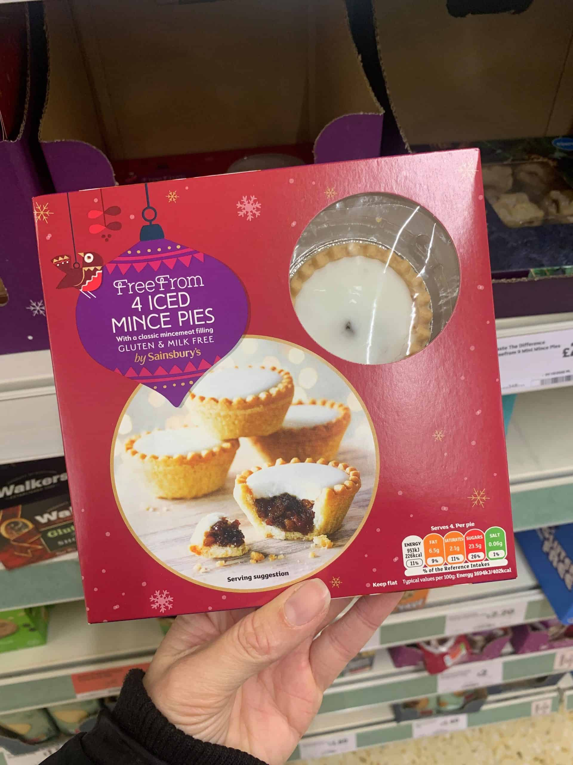 gluten free christmas food sainsburys 2020