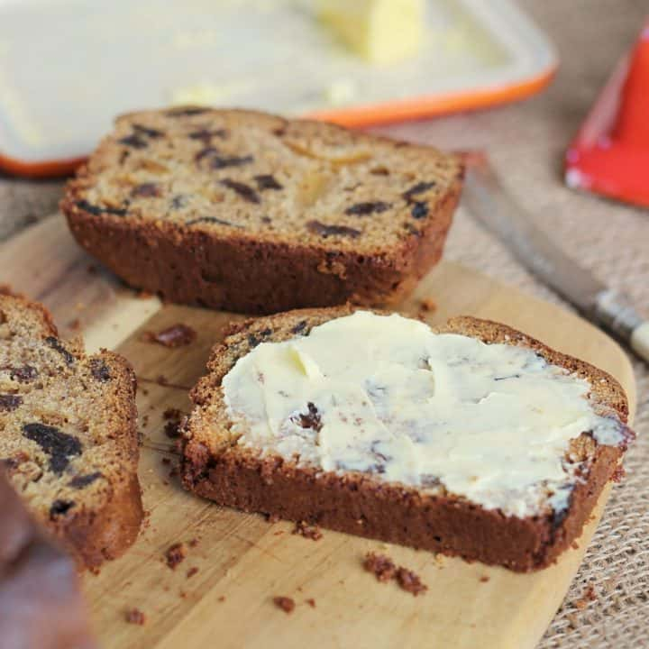 gluten free tea loaf recipe