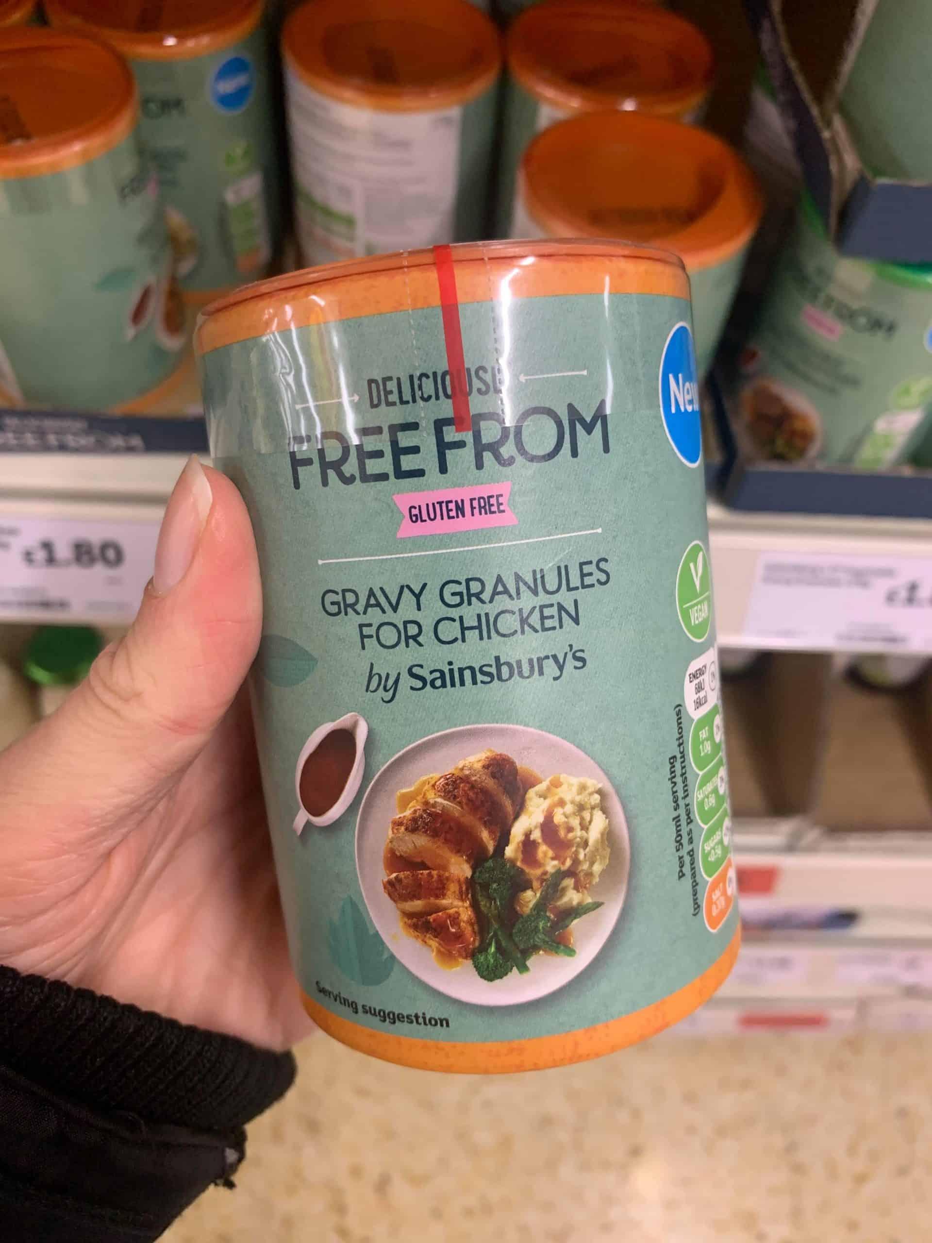 sainsburys gluten free gravy