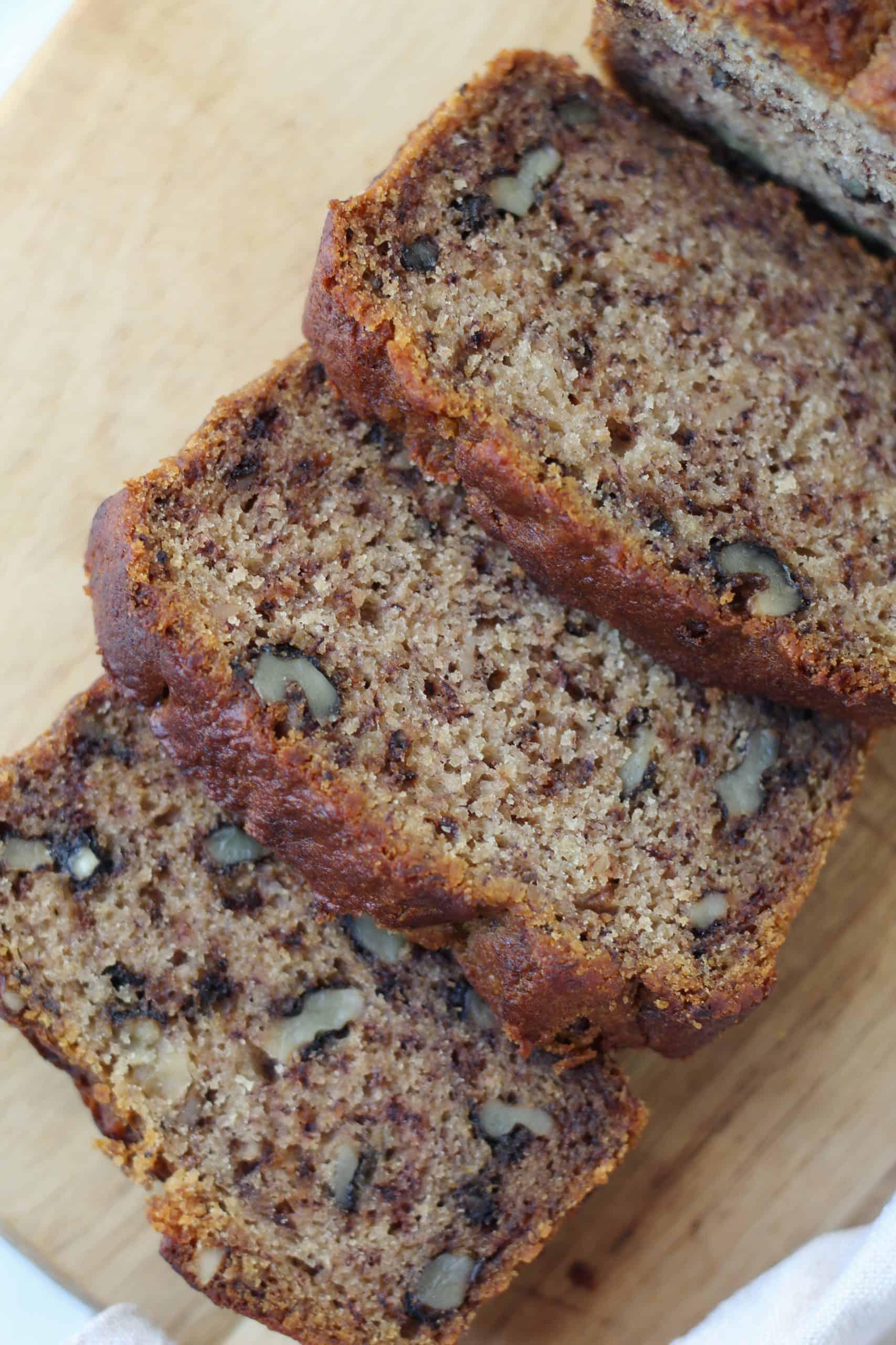 gluten free banana bread vegan recipe