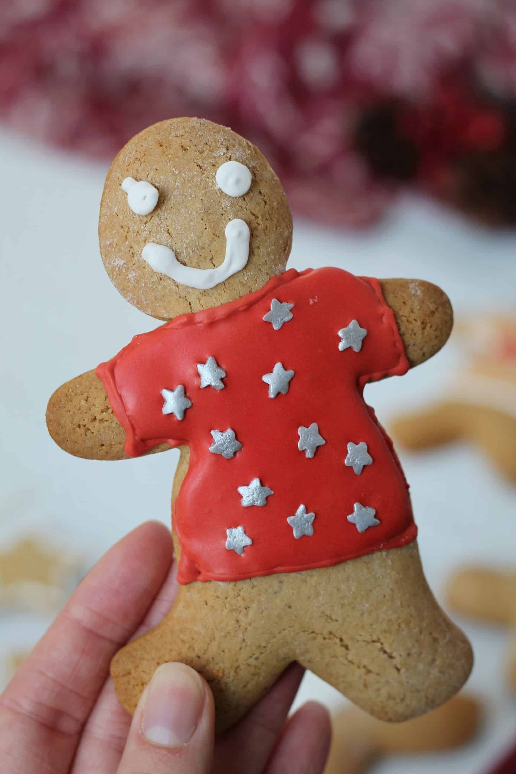 gluten free gingerbread cookies recipe