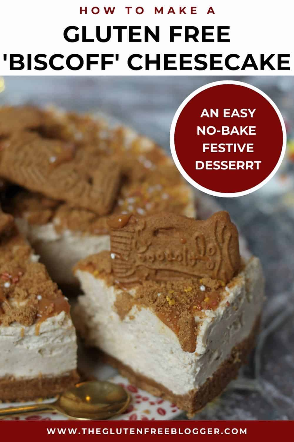 gluten free biscoff cheesecake recipe