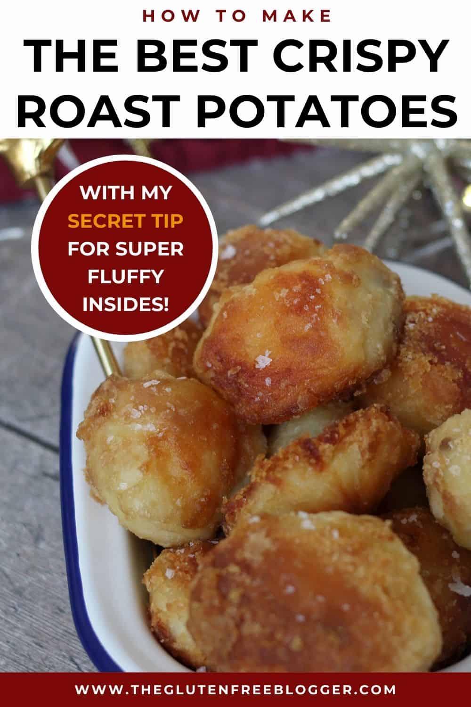 Gluten free ROAST POTATOES RECIPE - Christmas dinner side dish