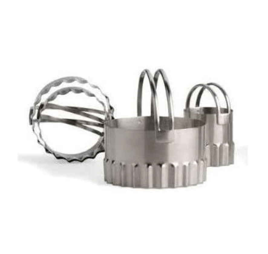 Fluted Round Cutter Set