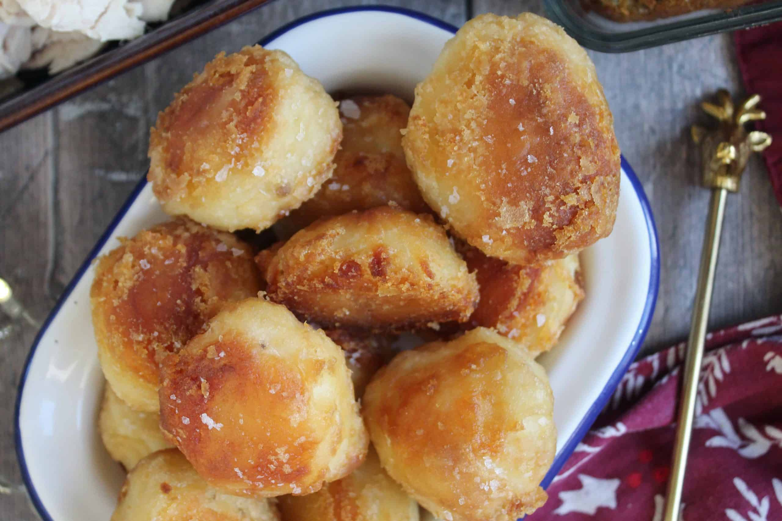 Gluten free ROAST POTATOES RECIPE - Christmas dinner side dish