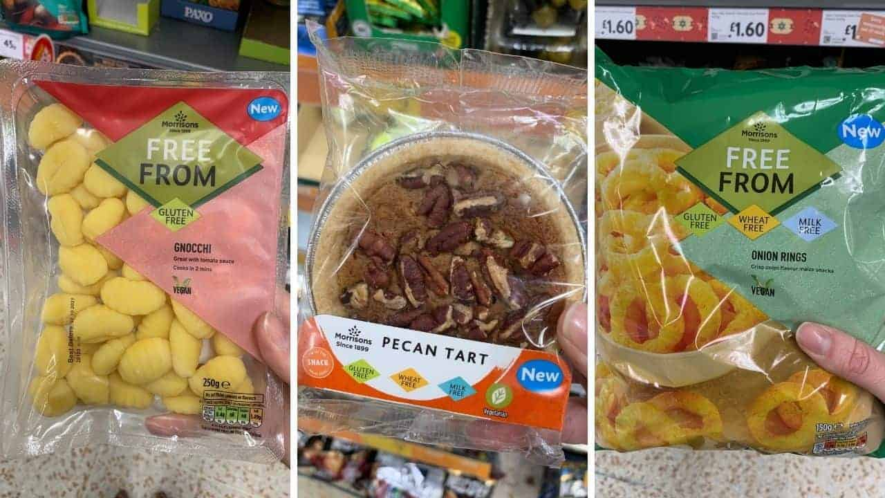 12 Exciting New Gluten Free Products in Morrisons