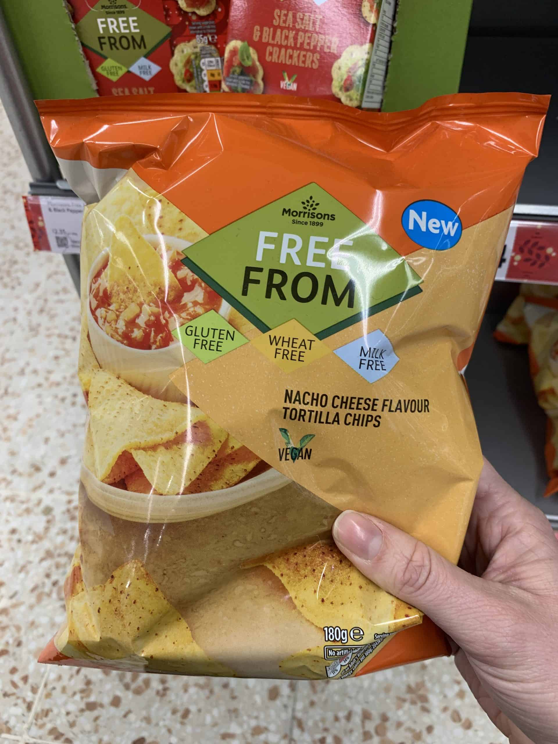 new morrisons gluten free products