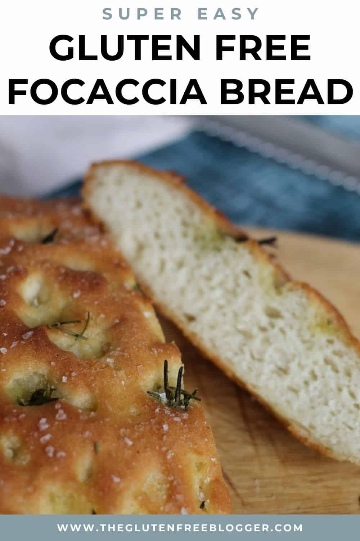 Easy Gluten Free Focaccia Bread Recipe