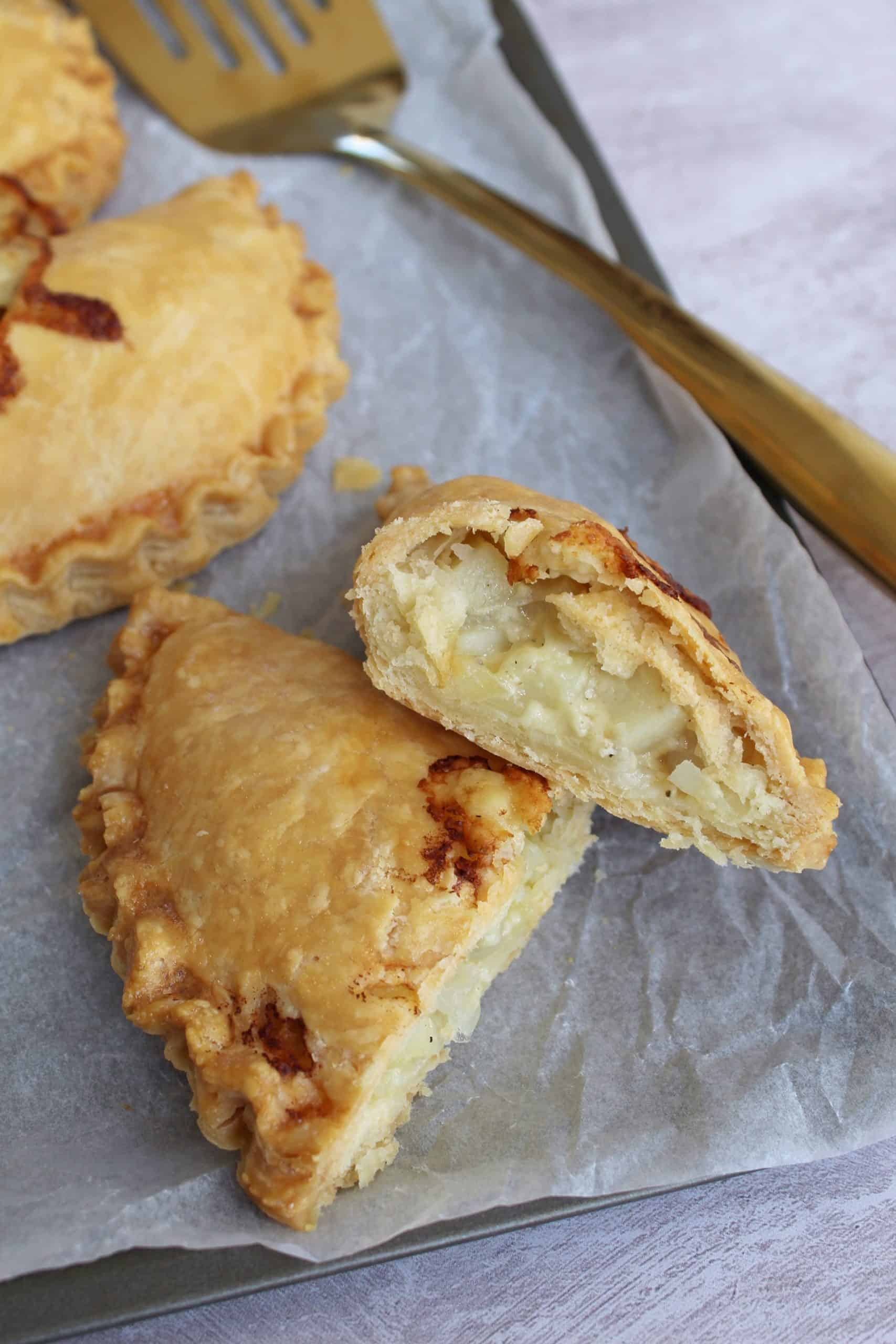 GLUTEN FREE CHEESE AND ONION PASTY RECIPE
