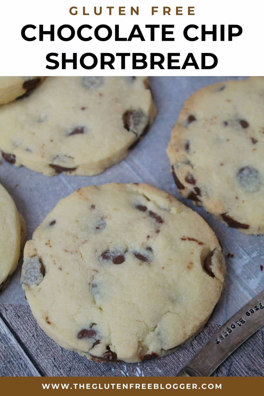 GLUTEN FREE CHOCOLATE CHIP SHORTBREAD COOKIES